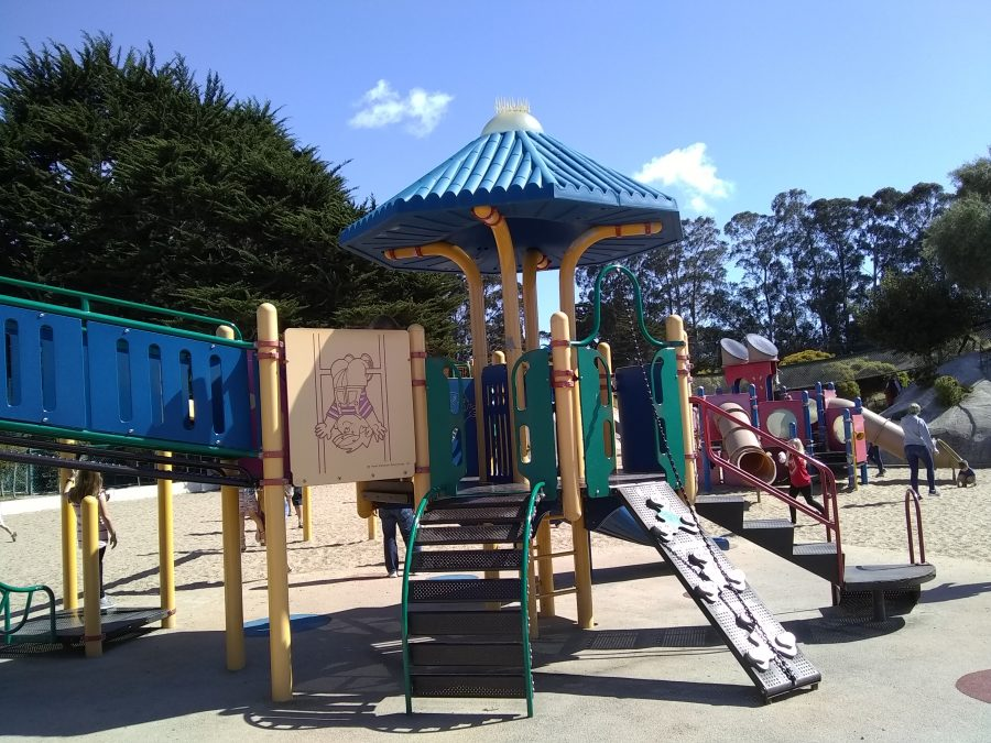 Playground in Monterey, CA